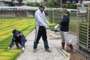 新採用職員が農業を学ぶ