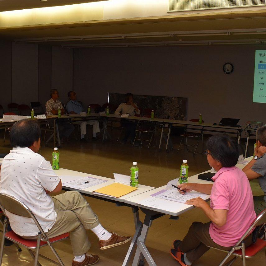 営農者会が地域役員会を開催1
