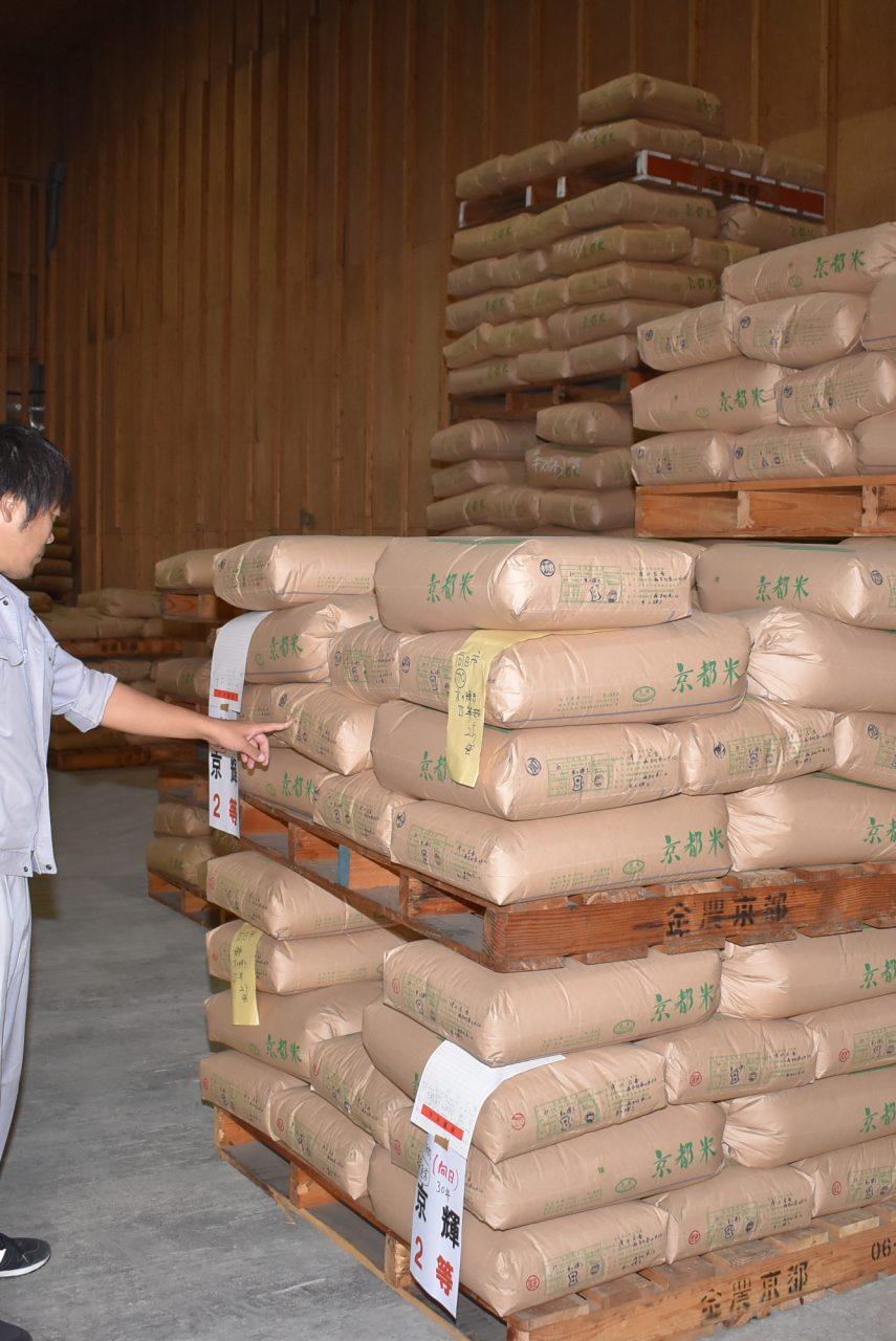 2018年産米を適正に保管1
