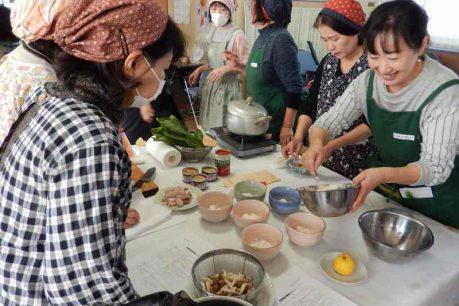 羽束師支店料理教室~冬野菜を美味しく!!2