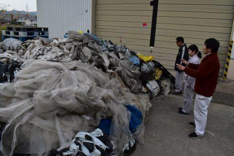 廃棄プラスチックの回収を行いました2