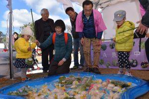 京の農林食文化フェアで京都米と京野菜のPR活動を行いました1