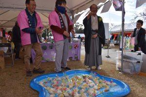 京の農林食文化フェアで京都米と京野菜のPR活動を行いました2
