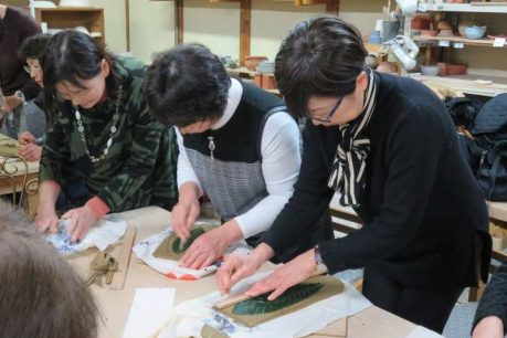 乙訓支店女性部・陶芸体験と近場の温泉旅行1