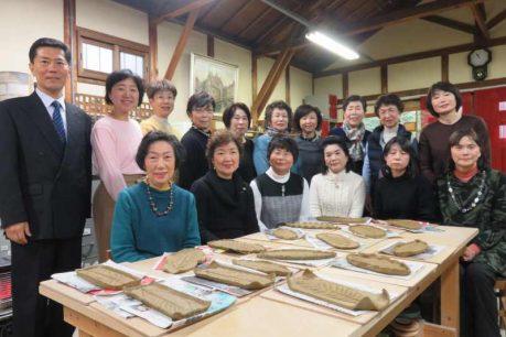 乙訓支店女性部・陶芸体験と近場の温泉旅行2