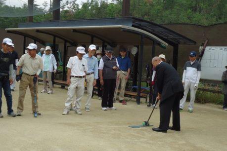 第12回グラウンド・ゴルフ大会1