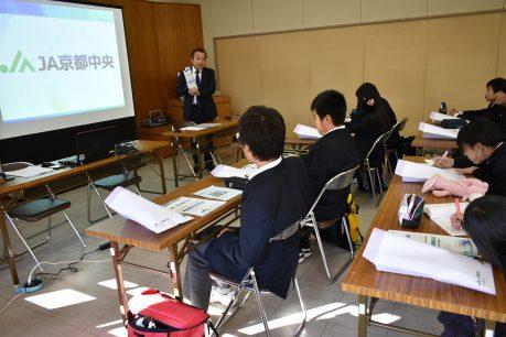 長岡第四中学校1年生の職場訪問学習受入れ2