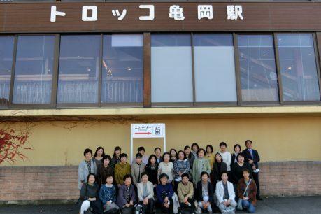 嵯峨野トロッコと大河ドラマ記念館を楽しみました!1