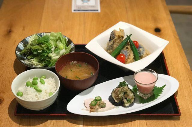 「京おくら」と「京都茄子」を使った期間限定メニューが始まりました